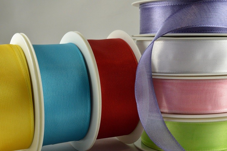 43999 - 25mm, 40mm & 70mm Wired Sheer Ribbon (25 Metres)