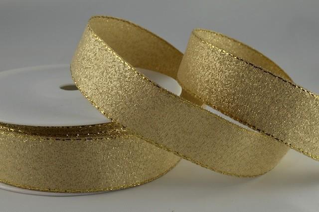 54034 - 24mm Gold Lurex x 20 Metre Rolls!