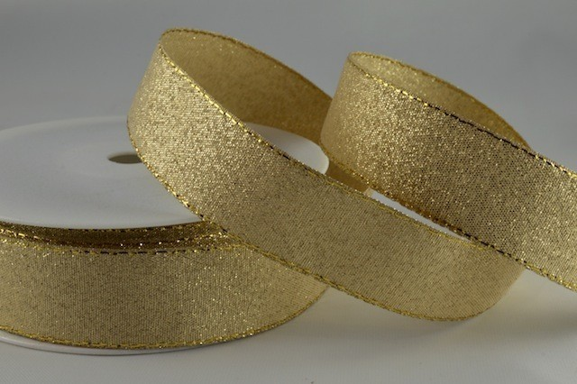 54034 - 36mm Gold Lurex x 20 Metre Rolls!