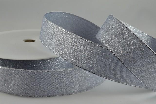 54034 - 36mm Silver Lurex x 20 Metre Rolls!