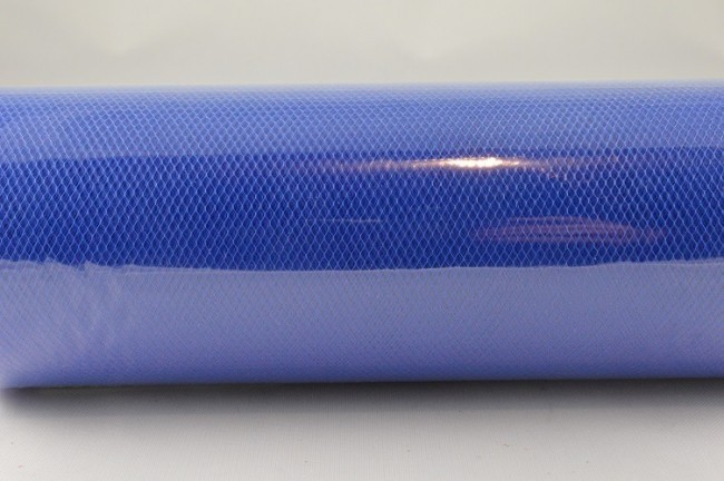 88016 - 150mm Blue Coloured Nylon Tulle Fabric (10 Metres)
