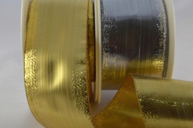 50018 - 10mm, 15mm, 25mm & 40mm Lurex Ribbon (25 Metres / 50 Metres)