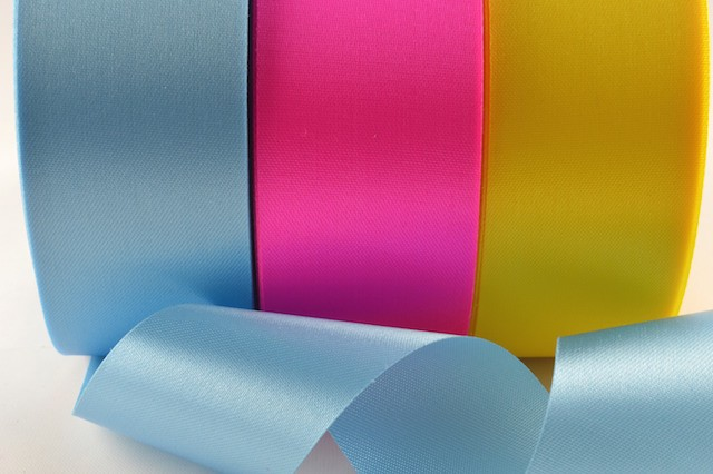53784 - 11mm, 15mm, 24mm, 38mm, 50mm, 73mm, 100mm Acetate Satin Ribbon (50 Metres)