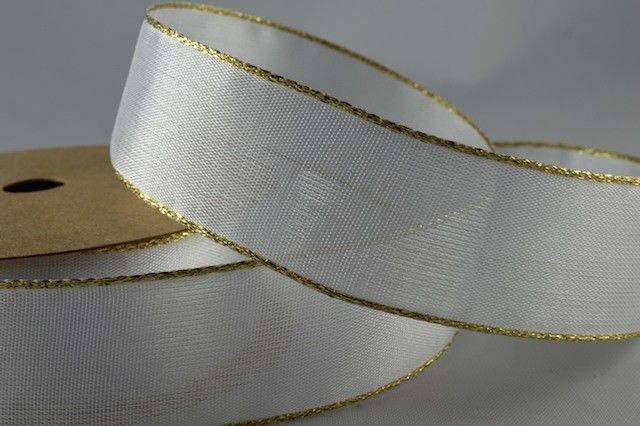 02 White with Gold Edge
