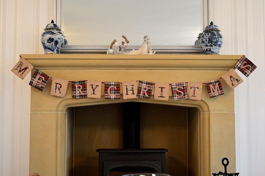88173 - Merry Christmas Bunting