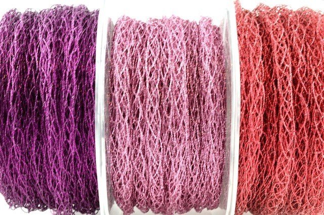 94452 - 6mm Knitted Cord Ribbon (15 Metres)