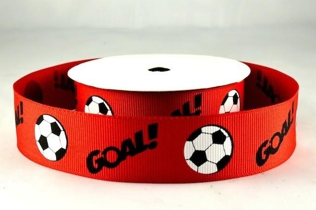 54574 - 38mm Football Ribbon x 3 Metre Rolls!