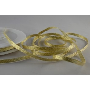 54107 - 3mm Gold Woven Glitter Ribbon x 20 Metre Rolls!