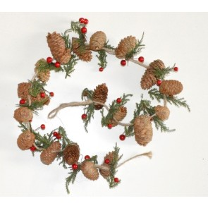 22002 - Traditional Christmas Pine Trees Garlands