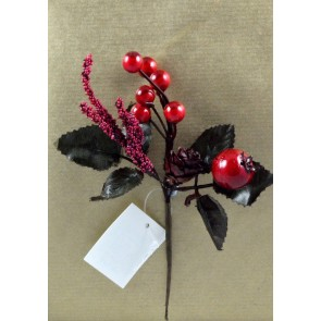 Red Berries Christmas Pick