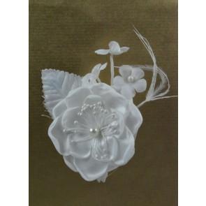 White Pearl Floral Pick