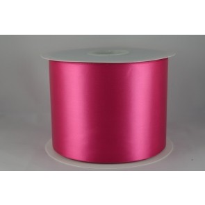 54033 100mm - Fuschia Single Satin Sash Ribbon (50 Metres)