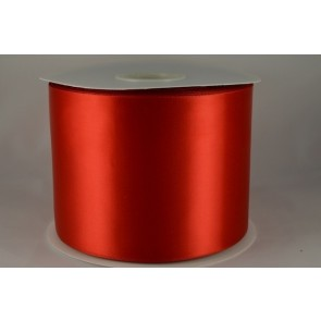 54033 100mm - Red Single Satin Sash Ribbon (50 Metres)