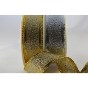 44089 - 15mm & 25mm Tightly Woven Wired Lurex (20 Metres)