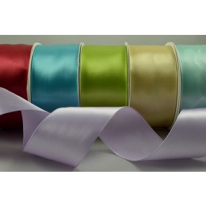 44154 - 38mm Wired Single Satin Ribbon x 4 Metre Rolls!!