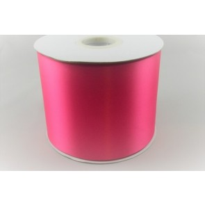54033 100mm - Light Fuschia Single Satin Sash Ribbon (50 Metres)