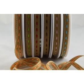 54368 - 6mm Centre Stitching Ribbon (20 Metres)