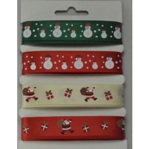 55089 - Assortment Merry Christmas Selection Packs : 4 x 2 Metre Lengths!