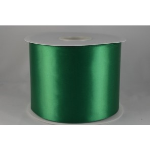 54033 100mm - Green Single Satin Sash Ribbon (50 Metres)