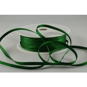 54107 - 3mm Green Woven Glitter Ribbon x 20 Metre Rolls!
