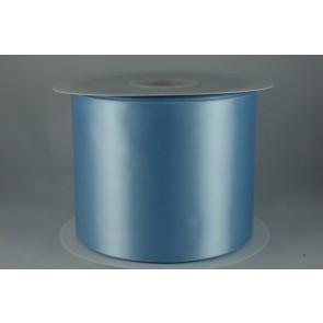 54033 100mm - Baby Blue Single Satin Sash Ribbon (50 Metres)