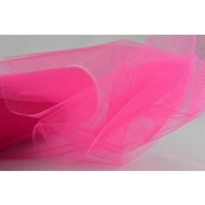 88016 - 150mm Fuschia Coloured Nylon Tulle Fabric (10 Metres)