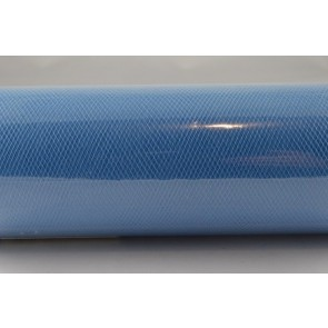 88016 - 150mm Baby Blue Coloured Nylon Tulle Fabric (10 Metres)