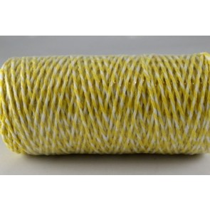 88044 - 1mm Yellow Coloured Bakers Twine (100 Metres)