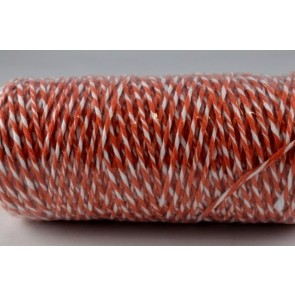 88044 - 1mm Orange Coloured Bakers Twine (100 Metres)