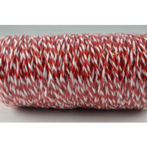 88044 - 1mm Red Coloured Bakers Twine (100 Metres)
