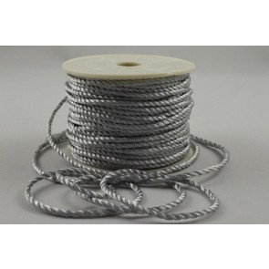 88067 - 2mm Silver Coloured Wrapping Craft Cord x 20 Metre Rolls!!