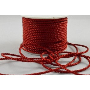 88067 - 2mm Red Coloured Wrapping Craft Cord x 20 Metre Rolls!!