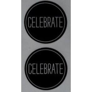 88105 - Celebrate Circular Stickers