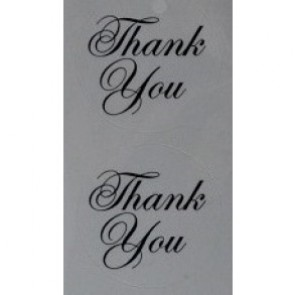 88106 - Thank You Stickers