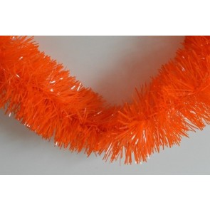 88135 - Orange Coloured Tinsel x 2 Metre Lengths!