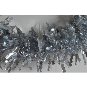 88138 - Silver Coloured Holly Leaf Tinsel x 2 Metre Lengths!