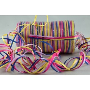 93798 - 3mm Coloured Raffia x 200 metres-Carnival