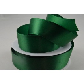 93977 - 15mm Green Double Sided Satin x 25 Metre Rolls!