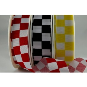 54550 - 25mm & 38mm Printed Block Ribbon (20 Metres)