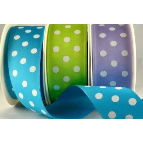 54204 - 38mm Polka Dot Ribbon (20 Metres)
