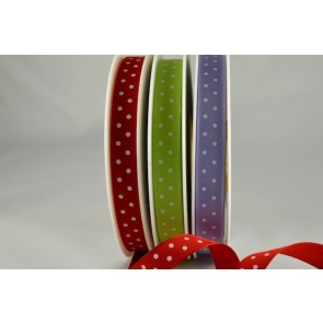 54203 - 10mm Polka Dot Ribbon (20 Metres)
