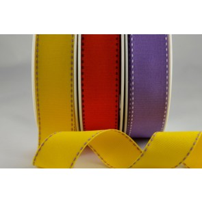 53783 - 25mm Grosgrain with side stitch (20 Metres)
