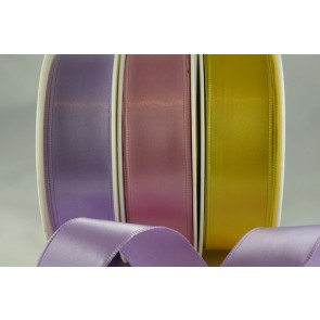 44033 - 25mm, 38mm & 63mm Single Faced Satin Wired Ribbon (20 Metres)