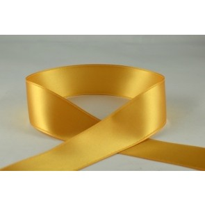 93977 - 50mm Gold Double Sided Satin x 25 Metre Rolls!