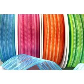 43901 - 15mm & 25mm Wired Ribbed Ribbon (20 metres)