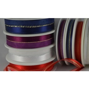 54501 - 10 & 22mm Central Lurex with sheer & satin (20 or 50 Metres)