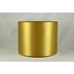 54033 100mm - Gold Single Satin Sash Ribbon (50 Metres)