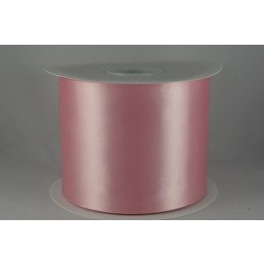 54033 100mm - Baby Pink Single Satin Sash Ribbon (50 Metres)
