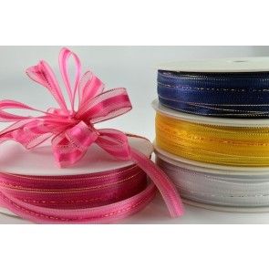 34008 - 15mm Fasbo Sheer Pull Bow Ribbon (25 Metres)