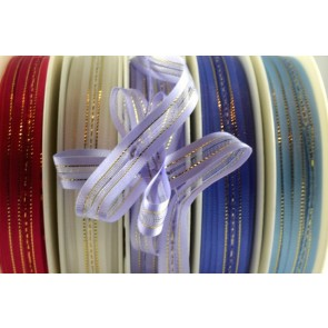 34007 - 10mm Fasbo Sheer Pull Bow Ribbon (25 Metres)